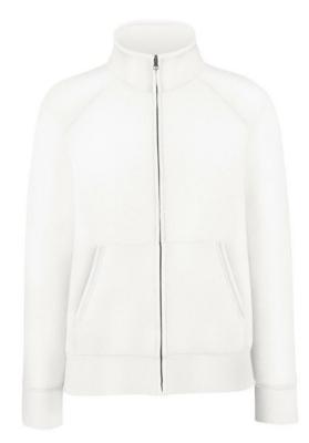 Damen Sweatjacke Lady-Fit Zip Sweat 62-002-0 XL White