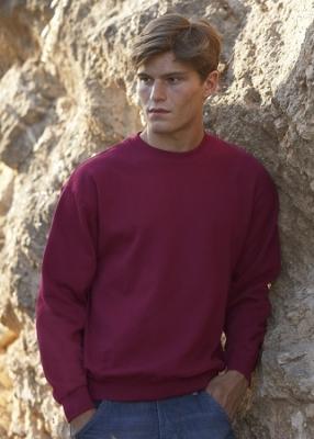 Herren Pullover  Sweatshirt / Fruit of the Loom 62-202-0  XL Bottle Geen