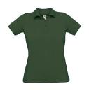 Damen Poloshirt / B&C Safran Pure Woman pw455 M Bottle Green