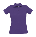 Damen Poloshirt / B&C Safran Pure Woman pw455 L Purple
