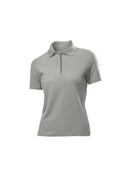 Damen Poloshirt / Stedman / ST3100 S Heather Grey