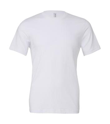Damen, Herren Shirt, The Perfect Tee / Bella 3001 M White