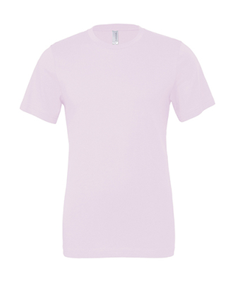 Damen, Herren Shirt, The Perfect Tee / Bella 3001 M Soft Pink