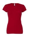 Damen T Shirt Rundhals / Bella 1001 M Cardinal