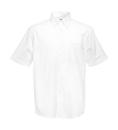 Herren Oxford Hemd / Fruit of the Loom 65-112-0 L (41-42) White