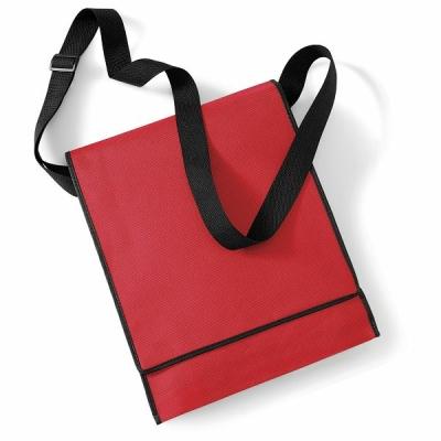Messenger Bag-Tasche  / Westford Mill W290 OS Red/Black