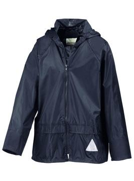 Kinder Schlechtwetter-Anzug / Result R095J M (128) Navy