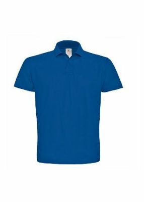 Herren Polo Shirt B&C ID.001 / 3XL Royal
