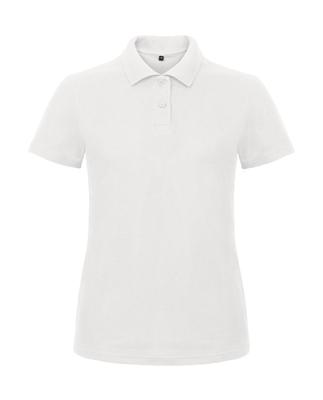 Damen Polo Shirt B&C PWI11 S White