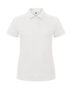 Damen Polo Shirt B&C PWI11 L White