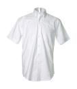 """Herren Hemd Oxford bis Gr. 18.5"""" (47cm) / Kustom Kit KK350 16.5 Inch (42cm Halsumfang) White"""