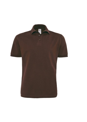 Herren Polo Heavymill Shirt / B&C HVYML PU422 XL Brown