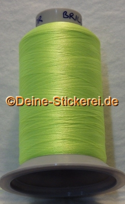 2910 Brildor Neonfarben - RGB Farbe 222, 250, 24