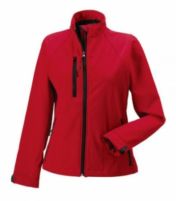 Damen Softshell Jacke / Russell 140F/ Red, S Classic Red