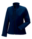 Damen Softshell Jacke / Russell 140F/ Red L French Navy