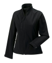 Damen Softshell Jacke / Russell 140F/ Red, M Black