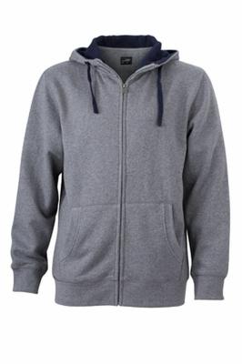 Grey Melange/Navy