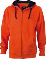 Dark Orange/Navy