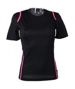 Black/Fluorescent Pink